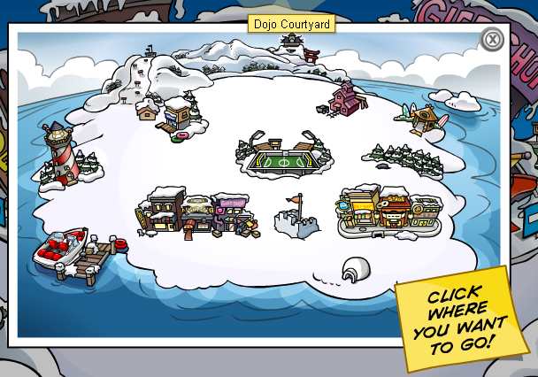 how to make your name appear on club penguin